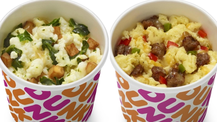 Dunkin's New Breakfast Bowls Are Loaded