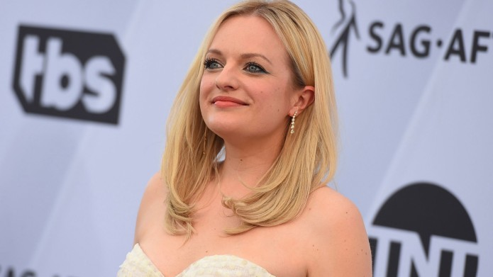 Elisabeth Moss arrives at the 25th