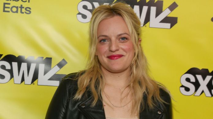 Elisabeth Moss arrives for the world