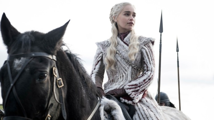 Daenerys Targaryen on horse Game of
