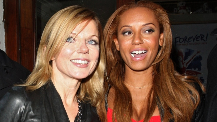 Geri Halliwell and Melanie Brown.