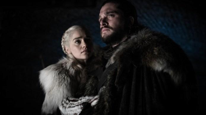 Daenerys Targaryen and Jon Snow on