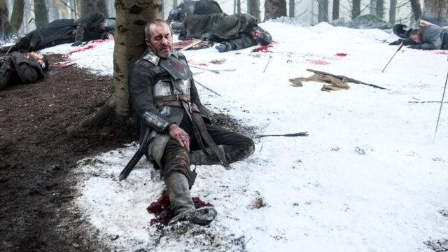 Stannis death scene 'GoT.'