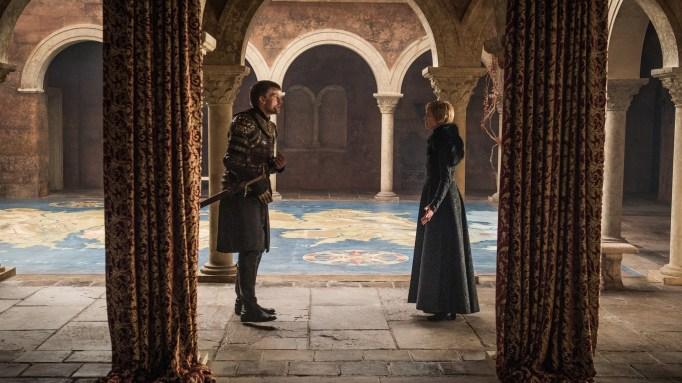 'GoT' Jaime and Cersei.
