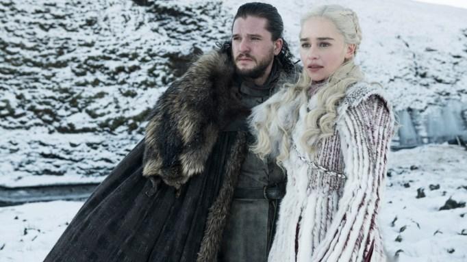 'GoT' Jon Snow and Daenerys Targaryen.