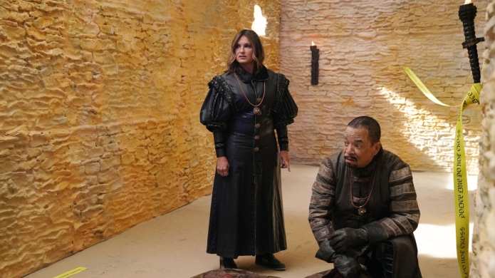 Mariska Hargitay and Ice-T in 'GoT'