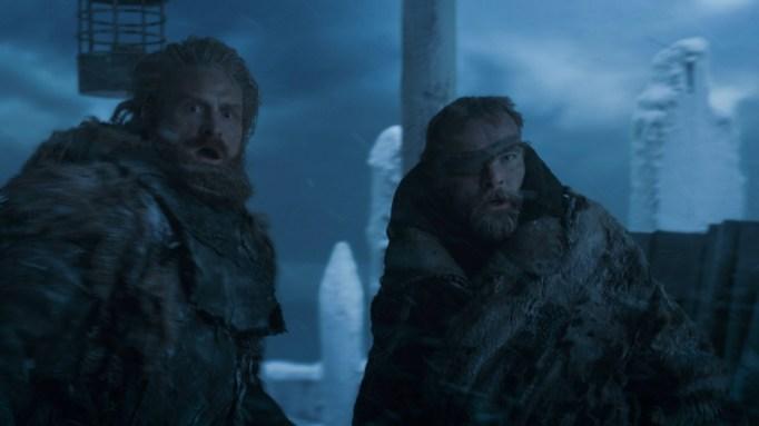 'GoT' Tormund and Beric.
