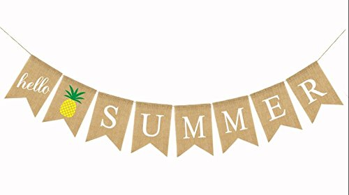 Amazon Summer Party Decor: Hello Summer Banner