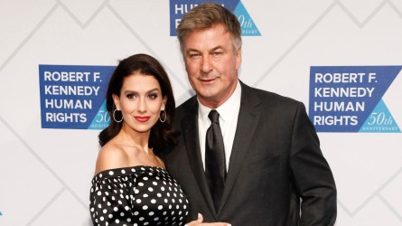 Alec and Hilaria Baldwin at 2018
