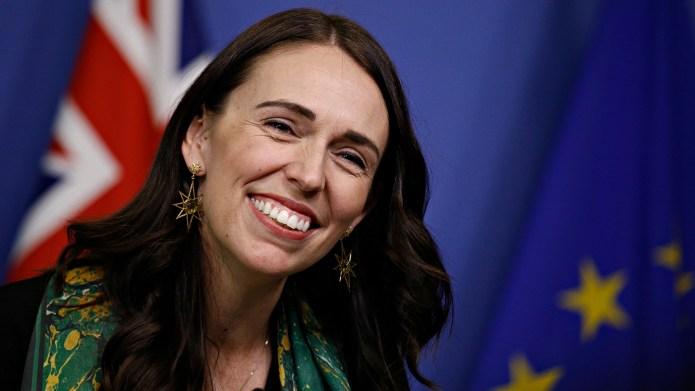 New Zealand PM Jacinda Ardern Pays