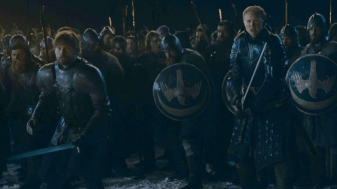 Jaime and Brienne at Battle of