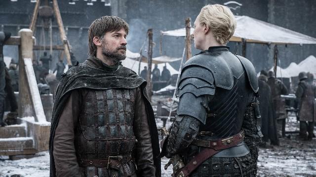 Jaime GoT S8E2 Brienne Winterfell