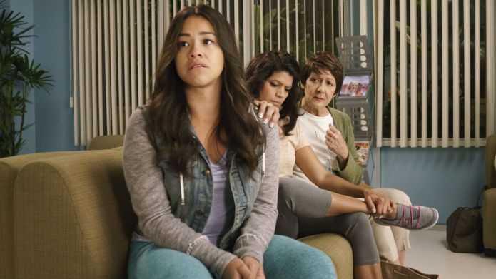 Photo of Gina Rodriguez, Andrea Navedo