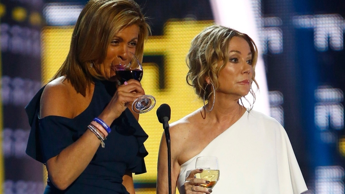 Hoda Kotb, left, and Kathie Lee