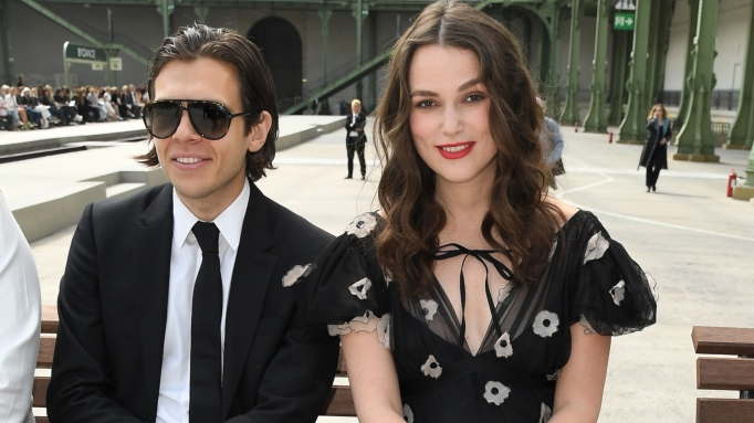Keira Knightly and James Righton
