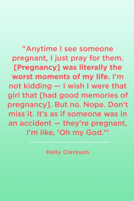 Kelly Clarkson's Most Iconic Quotes On Motherhood