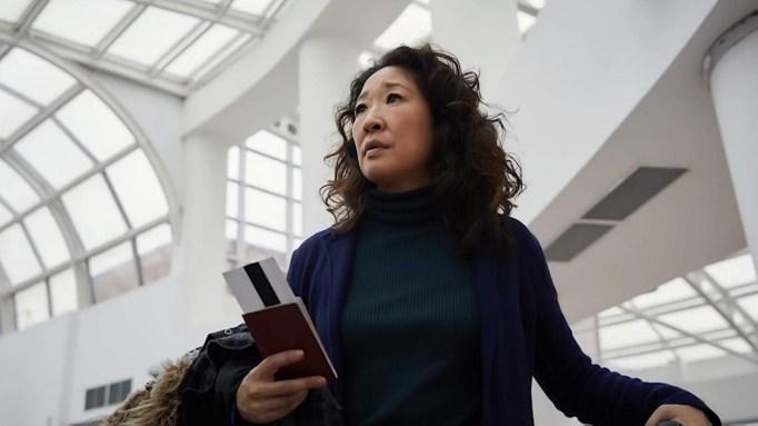 Sandra Oh in BBC America's Killing Eve season two