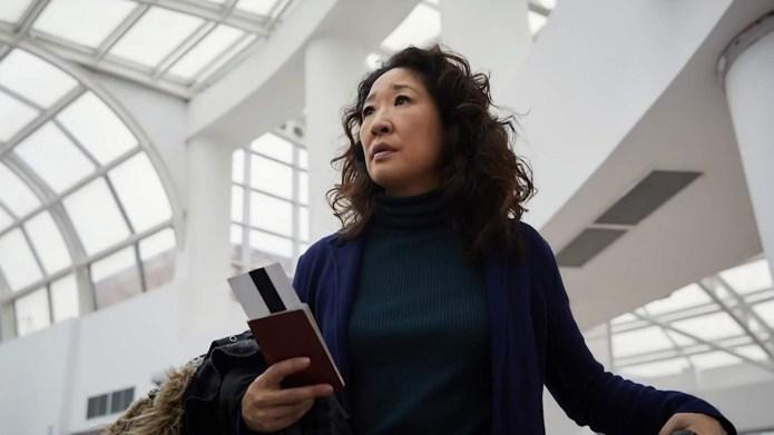 Sandra Oh in BBC America's Killing