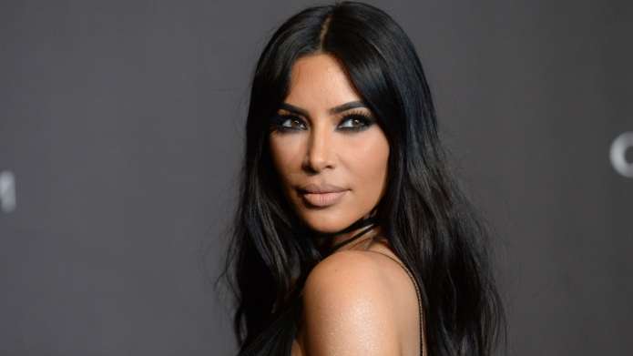 Kim Kardashian at event on arrivals