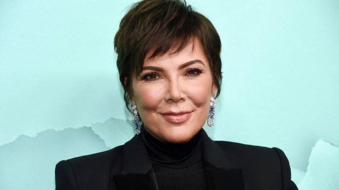 Kris Jenner attends 2018 Tiffany &