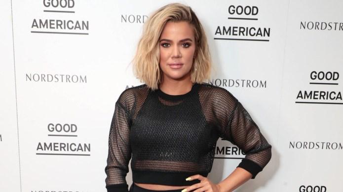 Khloe Kardashian celebrates the launch of