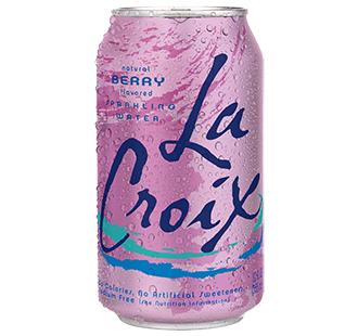 La Croix 'Berry' flavor.