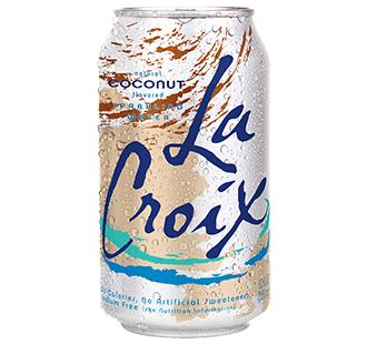 La Croix 'Coconut' flavor.