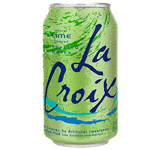 La Croix 'Lime' flavor.