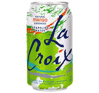 La Croix 'Mango' flavor.