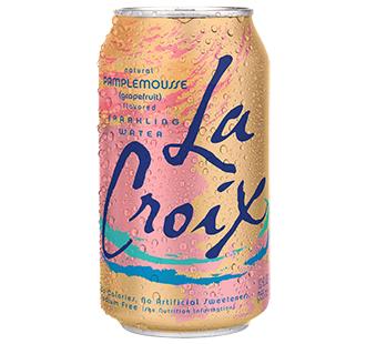 La Croix 'Pamplemousse' flavor.