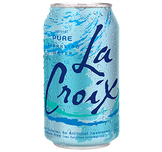 La Croix 'Pure' flavor.