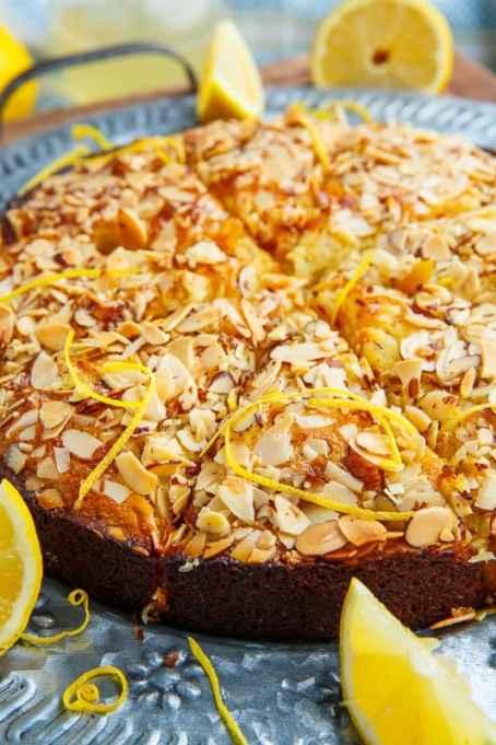 Lemon-Almond Cake
