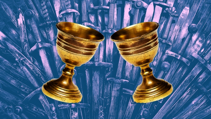 game of thrones two goblets