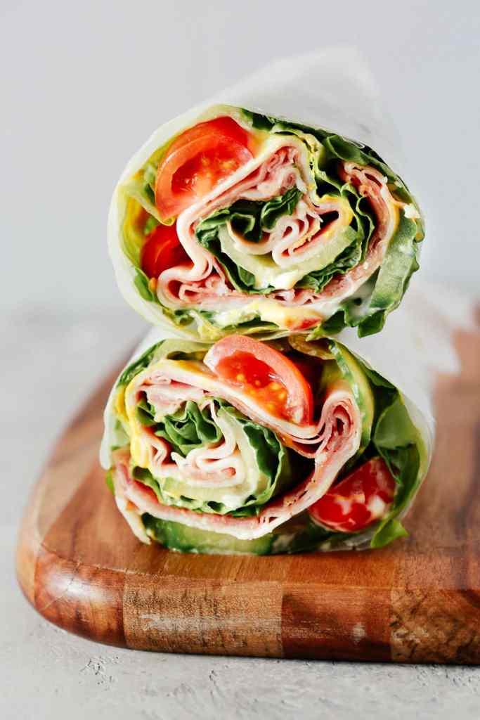 Paleo Recipes: Low-Carb Lettuce Wrap Sandwiches