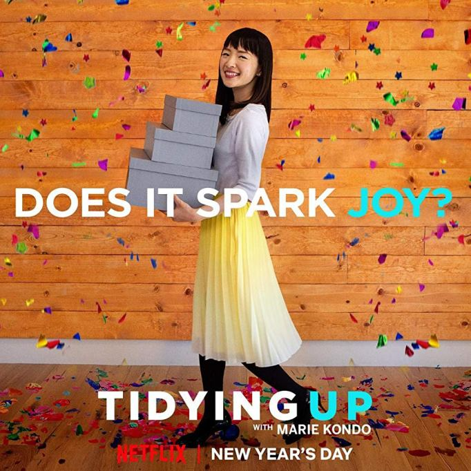 'Tidying Up with Marie Kondo.'