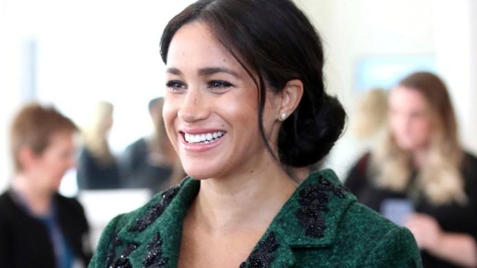 Britain's Meghan Duchess of Sussex arrive
