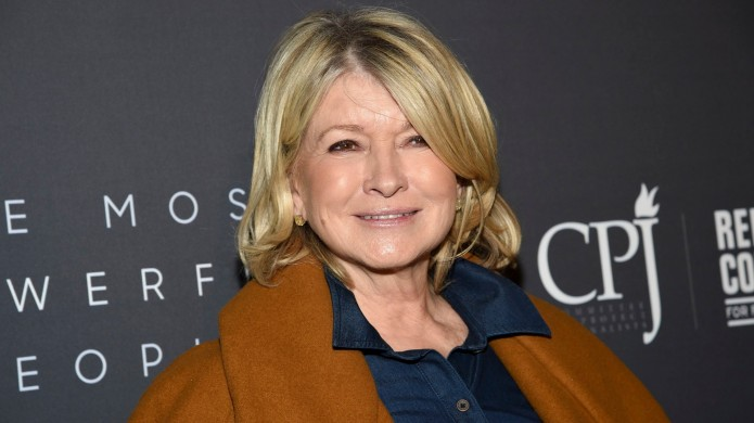 Martha Stewart attends The Hollywood Reporter's