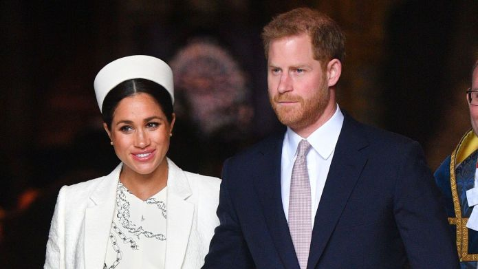 Meghan Markle and Prince Harry attend