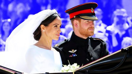 Meghan Markle, Prince Harry Wedding Day