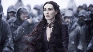 Melisandre (Carice Van Houten) on Game of Thrones on HBO