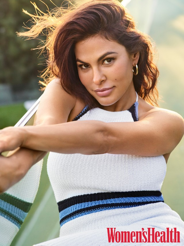 Eva Mendes in second photo from Women's Health May 2019