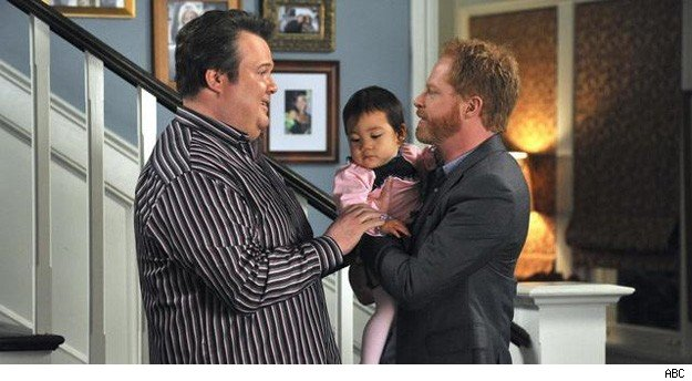 """Modern Family"" TV adoption"