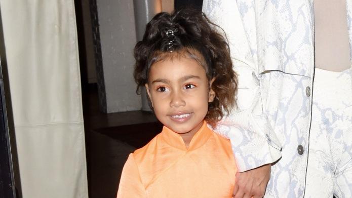 North West Performs at Dad Kanye's
