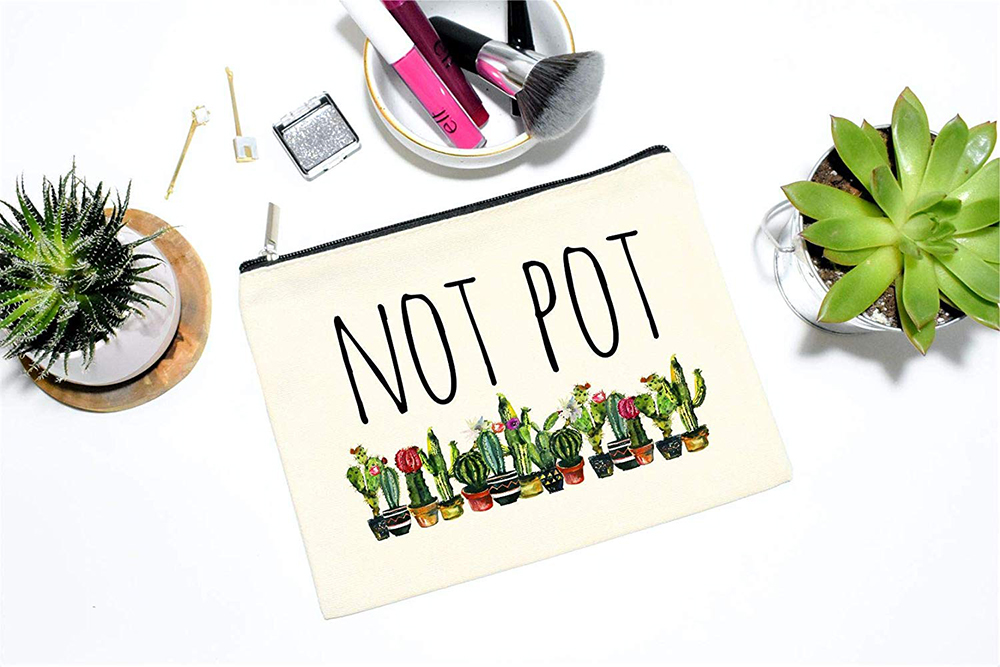 Gifts for Pot-Smoking Moms: Not Pot Zipper Bag