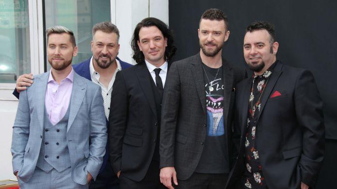 Photo of NSYNC at 2018 Hollywood