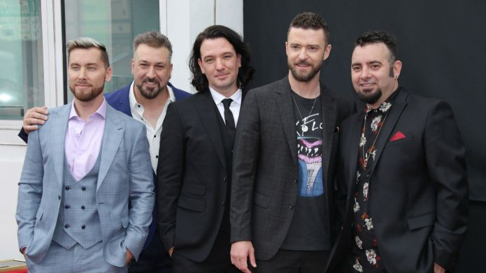 Photo of NSYNC at 2018 Hollywood