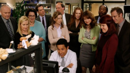 The Office cast from final season