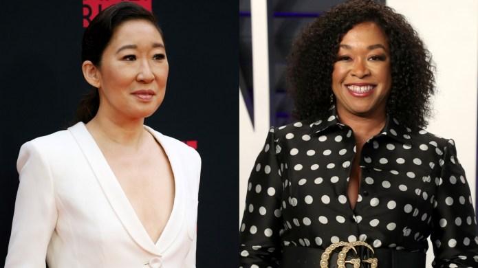 Sandra Oh and Shonda Rhimes collage