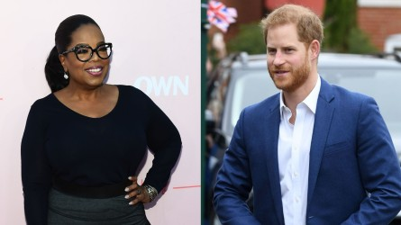 Oprah; Prince Harry.