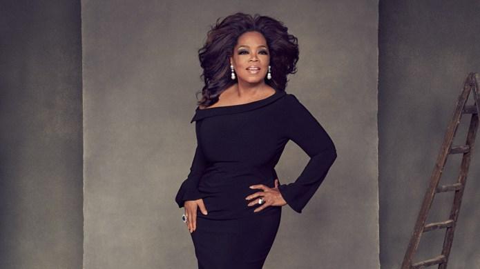 Oprah Winfrey hollywood reporter cover